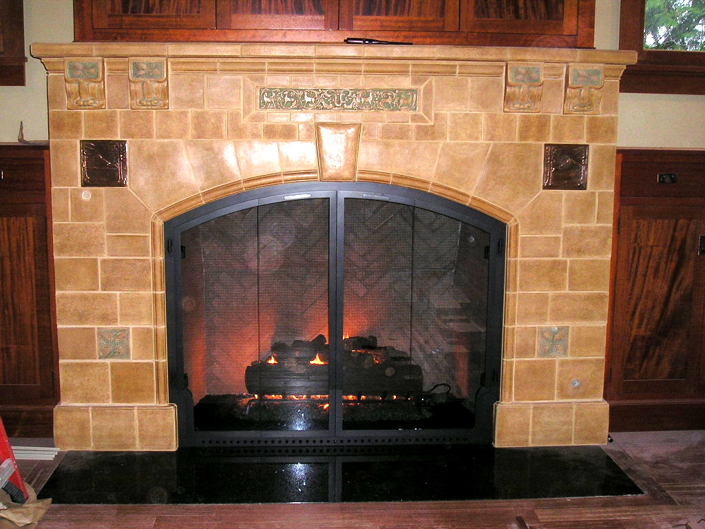 Tile  Fireplace Gallery Icon