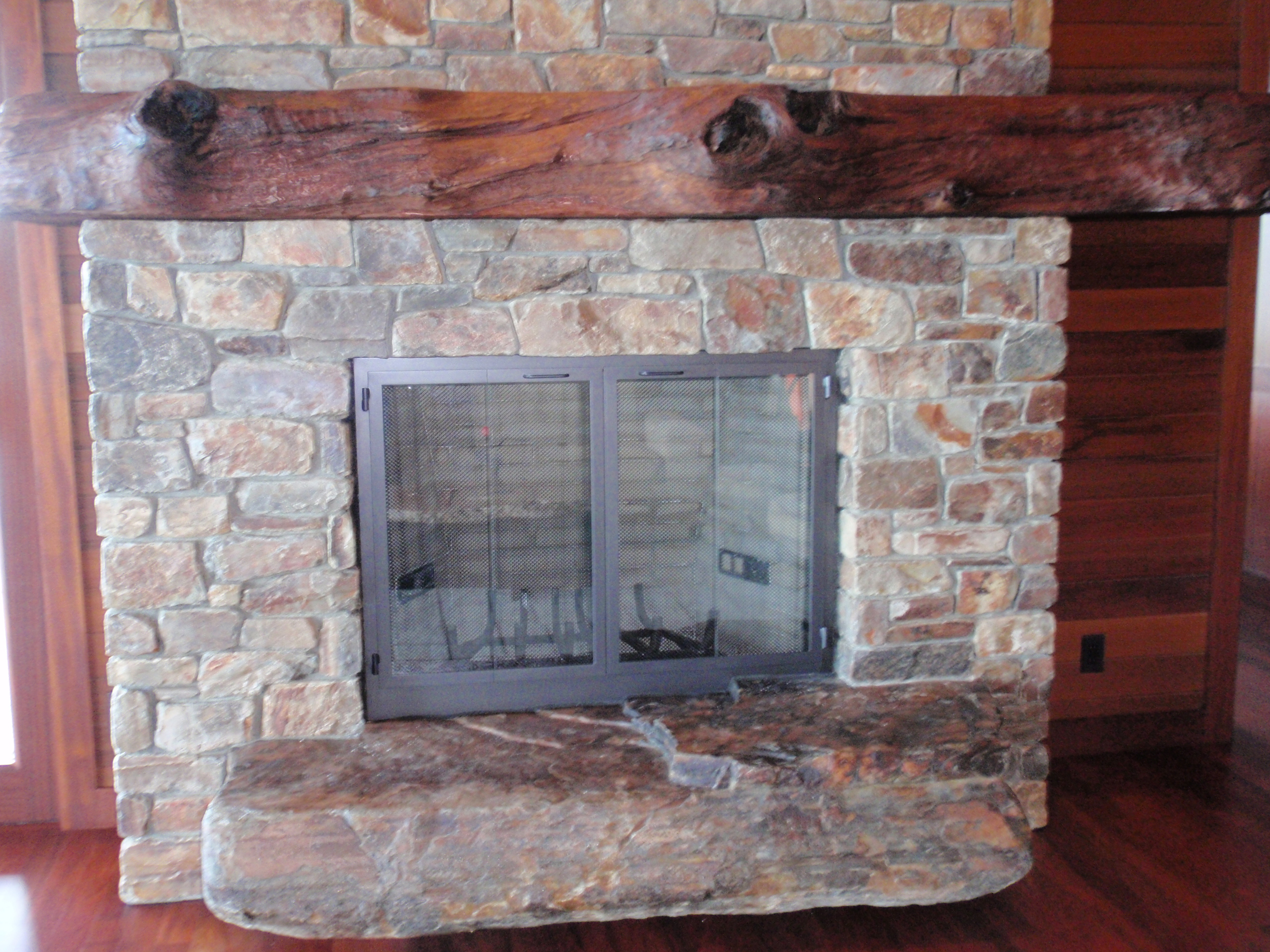 Stone  Fireplace Gallery Icon