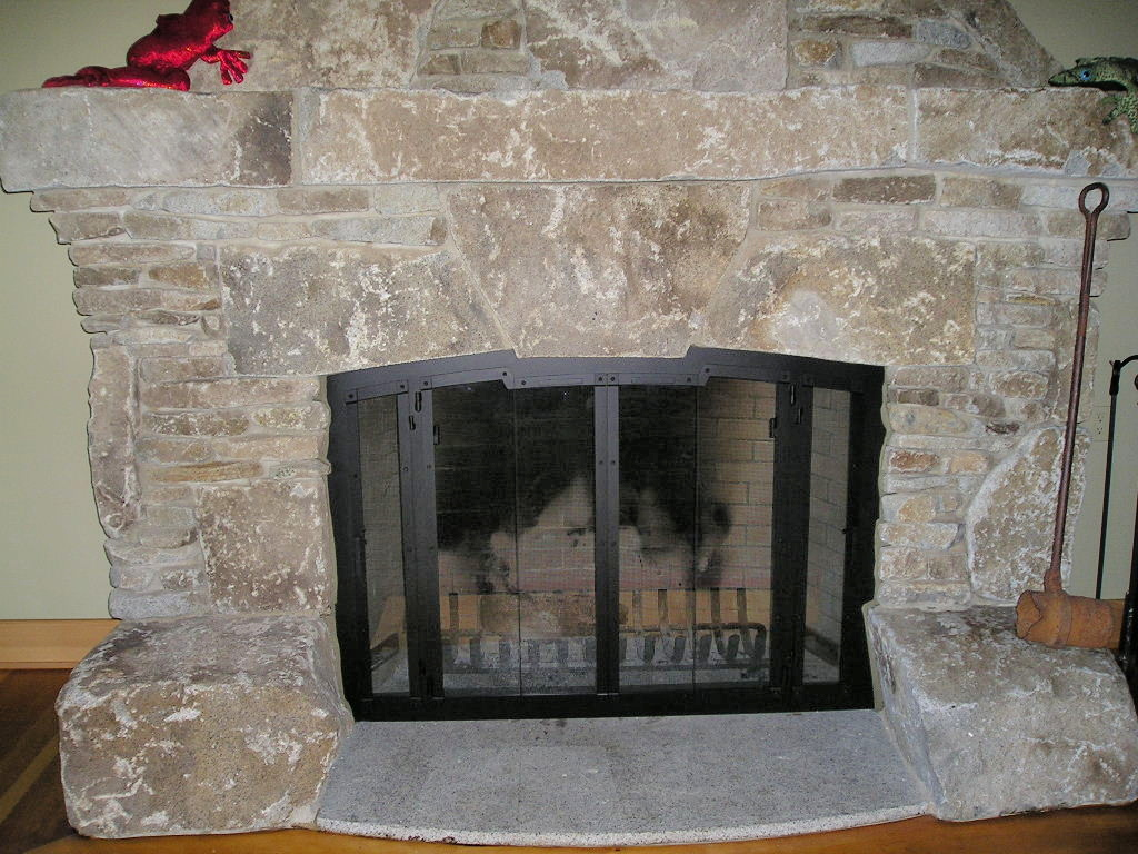 Fireplace Glass Doors And Screens Custom Handcrafted Fireplace Doors